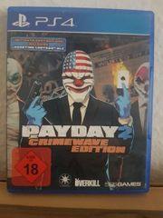 Playstation 4 PS4 Payday 2