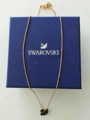 Swarovski Halskette mit Schwananhänger