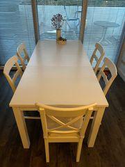 Ikea Esstisch Bjursta ausziehbar und