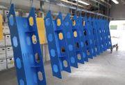 Hochwertige Pulverbeschichtung - Kleinteile Serien