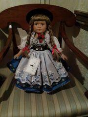 Sammler Porzellan Puppe