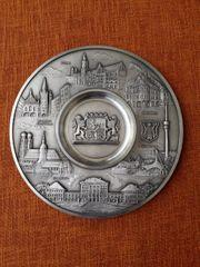 Zinnteller München 26 cm