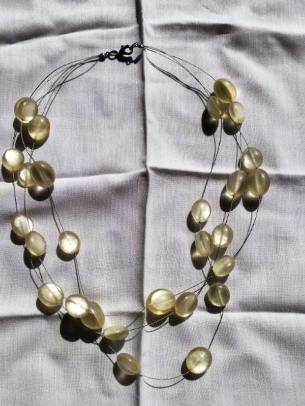 Halskette Steine unbekannt