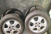 4 gute Reifen auf Alufelgen