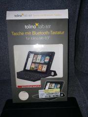 Tablet Tastatur mit Tasche für