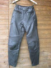 Damen- Biker-Lederhose Rindleder in der