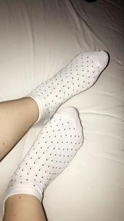 Getragene Socken nur Versand