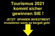 Investieren Tourismus Saison 2021 eine