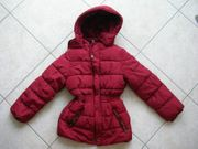 Winterjacke bordeaux Cute Cat Gr
