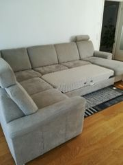 Großes Graues Sofa