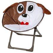 Kinderstuhl im lustigen Hundedesign für