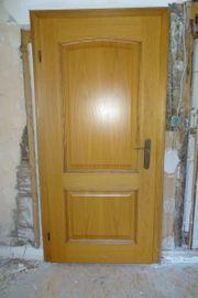 Zimmertüre Türe aus Eiche Türblatt