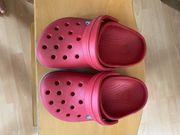 Crocs Kinder rot