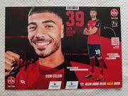 Autogrammkarte Ekin Celebi 1 FC