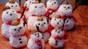 Deko - Schneemänner versch Größen
