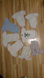 Babyerstausstattung Strampler Body Wickelbody Schlafanzug