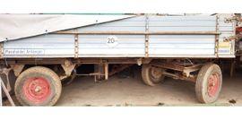 Traktoren, Landwirtschaftliche Fahrzeuge - 2-Seiten-Kipper Hänger Anhänger Massholder Plane