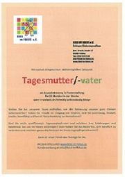 TAGESMUTTER TAGESVATER
