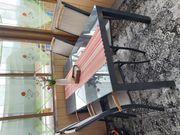 Gartengarnitur 160x90 cm fast neu