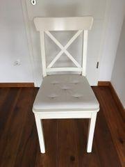 Verkaufe SECHS Stühle von Ikea