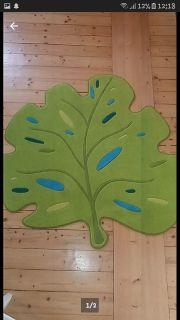 Teppich Blattform