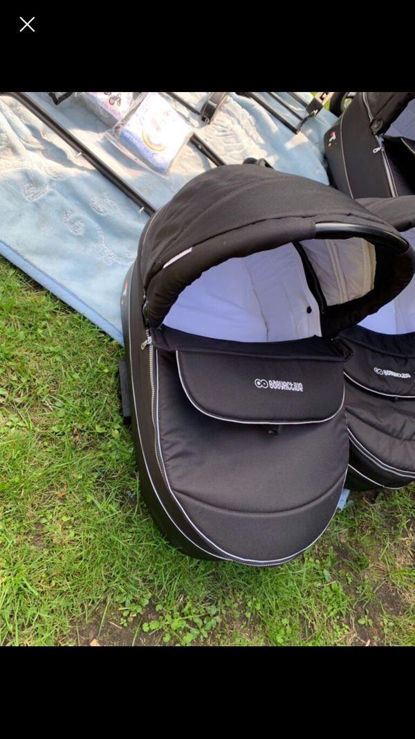 Trippy Kinderwagen Black Edition Zwillingskinderwagen