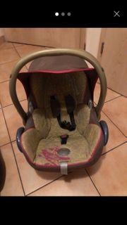 Maxi Cosi und Babyschale fürs