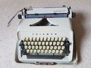 Liebhaberstück Schreibmaschine