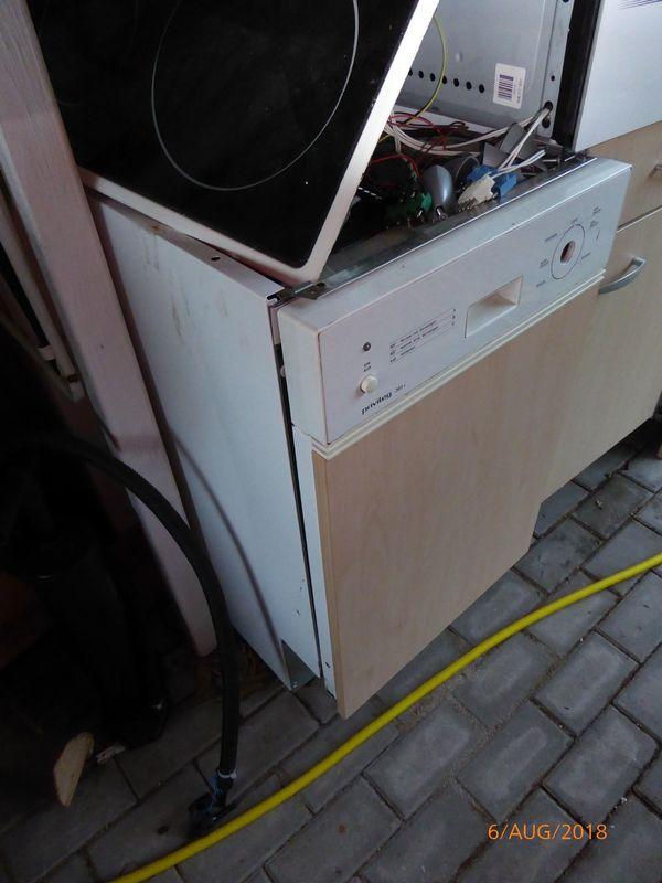 Geschirrspuler Einbaugerat 45 Cm Privileg In Nurnberg