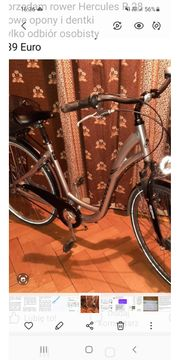 Fahrrad Hercules