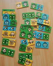 Anlegespiel Domino Kinderdomino aus Holz