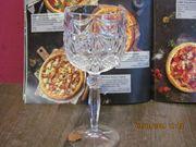 6 Weingläser echt Bleikristall