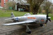 RC- Flugzeug Thunderbolt P 47