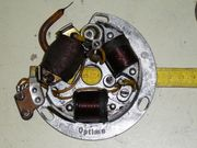 Oldtimer Lichtmaschine Optima Simson