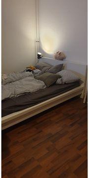 Ikea Malm Bett weiß Lattenrost