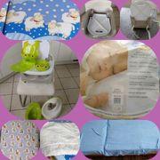 Kinderbettwäsche mit Bezug und Kindersitz