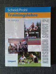 Trainingslehre - Kursbuch Sport 2 - Scheid