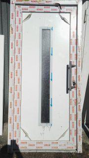 Haustüre Eingangstüre weiß kompl mit