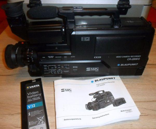 Blaupunkt Video Camera Rekorder CR-2000S (gebraucht)