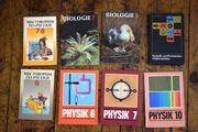 8 x DDR Schulbuch Sammlung