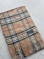 Schal braun schwarz weiß rot