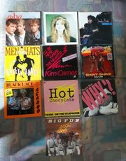10 Vinyl 7 Schallplatten 80er