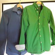 2 Marken Jungen Hemden Gr