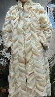 Eleganter Damen Winter Pelzmantel