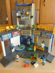 Spielzeug Playmobil Flughafen Airport Tower