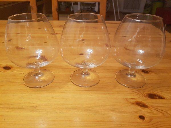 Große Cognac 3er Set Sammlerstück