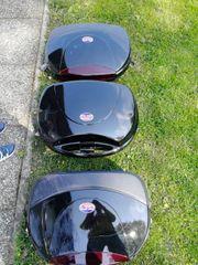 3 Motorradkoffer - Top und sidecases