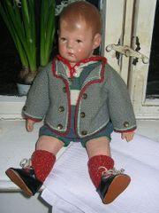 Käthe Kruse Puppe dick alt