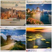 Puzzle See Schloss Neuschwanstein puzzel