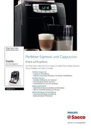 Saeco HD8753 11 Intelia Kaffeevollautomat